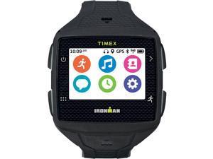 Timex Men's Ironman One GPS+ Smartwatch Fitness Tracker Black/Gray TW5K88800