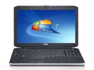 "grade ""B"" Dell latitude e5530 Business laptop  windows 7 pro 2.6ghz 8gb ddr3 memory 128gb ssd  dvdrw display 1366x768 intel hd graphics  good battery adapter"