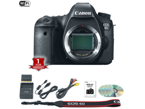 Canon EOS 6D DSLR Camera (Body Only) (International Model)