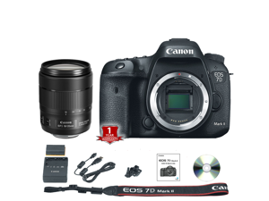 Canon EOS 7D Mark II DSLR Camera (Body Only) (International Model) with 18-135mm USM Lens Kit