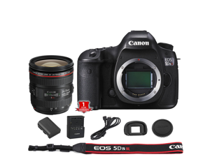 Canon EOS 6D DSLR Camera (Body Only) (International Model) with 24-70mm USM Lens Kit