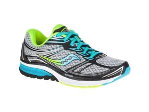 Saucony S10297-1 Guide 9 Narrow Women's Running Shoes, Gray, Size 9 US