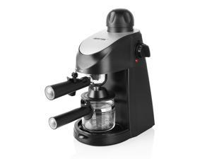 BESTEK 3.5 Bar Steam Espresso and Cappuccino Maker Coffee Machine, Including Stainless Steel Milk Fr