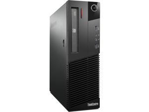 Lenovo Thinkcentre M83 Desktop - Intel i5 3.0GHz (4430) Quad Core CPU - 8GB RAM -500GB HDD - DVDRW - Gigabit Ethernet - Windows 10 Pro 64-bit installed - KB/Mouse Included