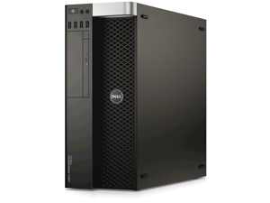 Dell Precision T3610 Workstation - Intel Xeon E5-1620 v2 Quad Core 3.7Ghz CPU - 16GB RAM - 256GB SSD - DVD+RW - Nvidia Quadro K600 - Windows 10 Pro 64 Bit Installed - KB/Mouse Included