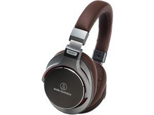 Audio-Technica SonicPro Gunmetal ATH-MSR7 3.5mm Connector Circumaural SonicPro Over-Ear High-Resolution Audio Headphones