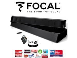 Focal Dimension 5.1 True Sound System with Soundbar, Subwoofer, and apt-X Bluetooth Receiver