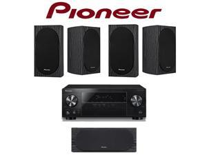 Pioneer VSX-831 Bundle w/ (1) SP-C22 Center Channel and (4) SP-BS22-LR Speakers