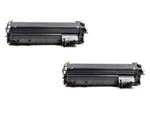 SL 2 PK HP CF280A 80A Black Laser Toner Cartridge