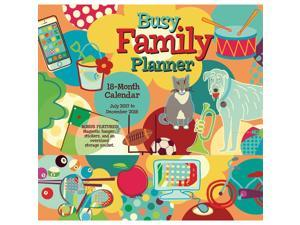 Busy Family Planner Magnetic Wall Calendar by Sellers Publishing