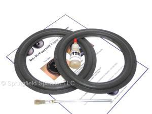 "2 Infinity 8"" Speaker Foam Surround Repair Kit - 902-xxxx, Alpha 50, Beta 50, Delta, Kappa, Reference, RS, SL, SM, SS, VRS, MANY MORE!"
