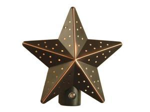 American Tack &  Hdwe Co 75050VB Tin Star Auto Nightlight Tin Star - Automat