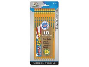 Board Dudes No.2 Presharpened USA Gold Penicls