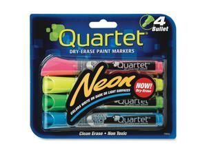 Quartet Neon Dry-Erase Markers
