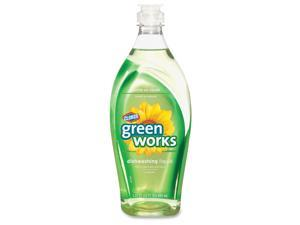 Clorox 30168 Green Works Natural Dishwashing Liquid Original- 22 oz. Bottle