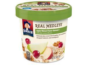 Quaker Foods Real Medleys Apple Walnut Oatmeal