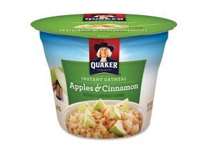 Quaker Foods Apple Cinnamon Instant Oatmeal Cup