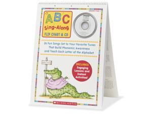 Scholastic Res. ABC Sing Along Flip Chart/CD