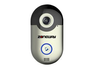 2015 New Wireless Video Doorbell Camera P2P Remote Access APP for iOS and Android Phone Two way Audio Support Motion Detection Remote Viewing from Phone