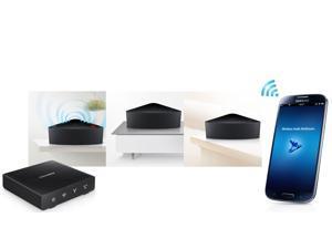 Samsung Wireless Multiroom 2 Speakers + Hub Set | 2xWAM350(M3) + WAM250