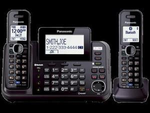 Panasonic KX-TG9542B Link2Cell 2-Line Cordless Phone- 2 Handsets