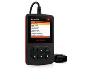 LAUNCH X431 Creader V Plus DIY OBD2 Automotive Code Scanners Full OBD II Functions Diagnostic Scan Tool Check Car Engine Light Fault Codes Readers with O2 Sensor /EVAP System /On-Board Monitoring Test