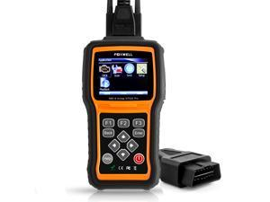 FOXWELL NT630 Pro Automotive ABS Scanner Obd2/OBD II Code Reader, Engine/Airbag Diagnostic Scan Tools with Steering Angle Sensor Calibration Function