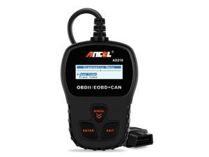 ANCEL AD210 OBD II Car Code Reader Automotive Vehicle Check Engine Light OBD2 Scanner Diagnostic Scan Tool-Black
