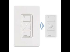 lutron ppkg1wwh caseta wireless dimmer switch starter kit