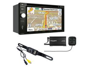 Jensen VX7020 Navigation touch-screen and Sirius XM SXV300V1 Tuner with backup camera