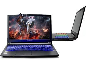 "Eluktronics N850HP6 Pro Premium VR Ready Gaming Laptop - Intel i7-7700HQ Quad Core Windows 10 Home 6GB GDDR5 NVIDIA GeForce GTX 1060 15.6"" Full HD IPS Display 512GB Performance SSD + 16GB DDR4 RAM"