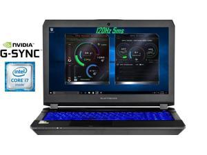 "Eluktronics Pro-X P650HP6-G VR Ready 15.6"" 120Hz 5ms Gamers Edition Laptop PC - Intel i7-7700HQ Quad Core Windows 10 Home 6GB GDDR5 NVIDIA GeForce GTX 1060 + G-SYNC 128GB PCIe NVMe SSD 8GB DDR4 RAM"