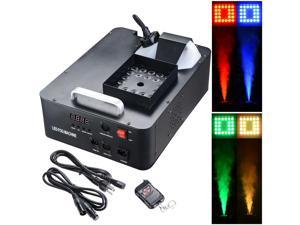 1500W LED Smoke Effect Machine Stage Fogger Equipment Wired Control Disco Party