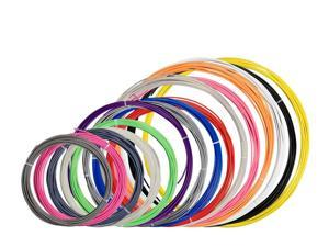 Monoprice MP PLA 3D Printer Filament Sample Pack, Variety