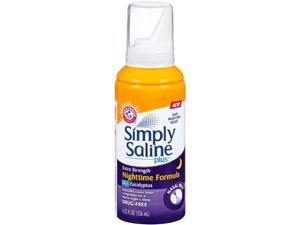 Simply Saline Adult Nasal Mist, Nighttime Giant Size, 4.25 Oz