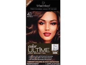 Schwarzkopf Ultime Hair Color Cream, 4.1 Rich Brown, 2.03 Ounce