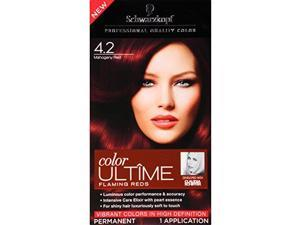 Schwarzkopf Ultime Hair Color Cream, 4.2 Mahogany Red, 5.7 Ounce