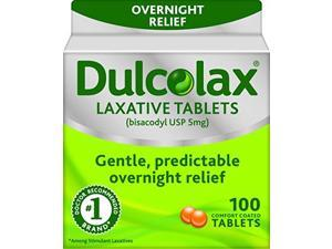 Dulcolax Laxative Tablets, 100 Count