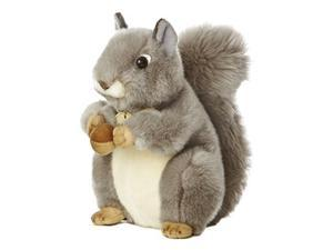 "Miyoni Grey Squirrel 9.5"" by Aurora"