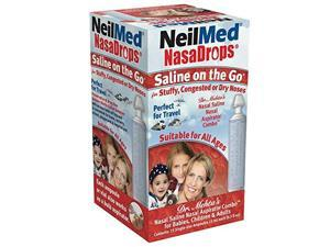 Neil Med Nasa Drops Saline Vials, 15 Single-Use Ampoules, 0.5 Fl Oz
