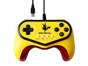 Hori Pokenmon Pokken Tournament Pikachu Controller Gamepad for Wii U