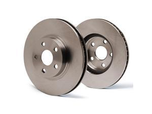 Rear Premium OE Blank Rotors SY018342 | Fits: 1998 98 1999 99 2000 00 Honda Accord Coupe 4 Cylinder Models