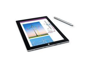 "Microsoft Surface 3 10.8"" 64GB Tablet w/ Wi-Fi - Silver PC Computer WiFi TouchScreen Touch Screen Windows 10"