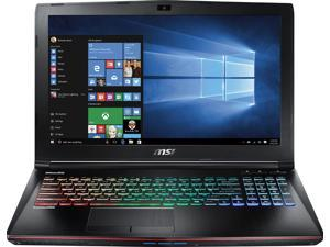 "MSI - 15.6"" Laptop - Intel Core i7 - 16GB Memory - NVIDIA GeForce GTX 1060 - 1TB Hard Drive + 256GB Solid State Drive - Aluminum black