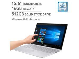 ASUS ZenBook UX501VW-XH71T Touchscreen Laptop - Intel Core i7 - 4GB NVIDIA Graphics - 4K Ultra HD Notebook Touch Screen Computer PC 512GB SSD 16GB Windows 10 Pro 4GB NVIDIA GTX 960M Graphics