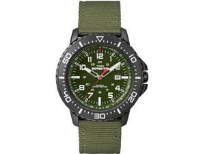 Timex Expedition Uplander Watch - Green Dial/Green Fabric Strap