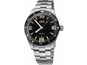 Oris Divers Sixty-Five Stainless Steel Automatic Mens Watch 73377074064MB