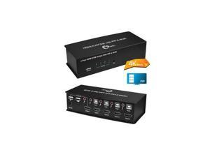 SIIG 4x1 USB HDMI KVM Switch with 4Kx2K & PIP
