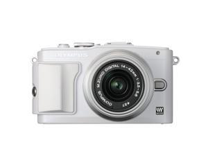 New OLYMPUS PEN Lite Micro SLR E-PL6 Digital Camera With 14-42mm Lens Kit - White