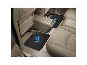 NFL - Detroit Lions  Backseat Utility Mats 2 Pack